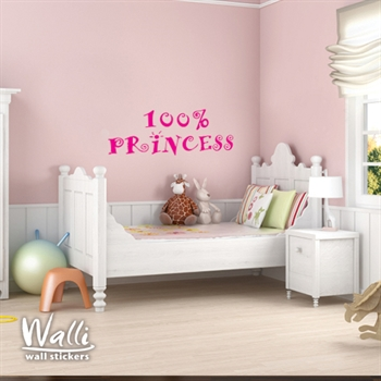 מדבקת קיר -  Princess  Room