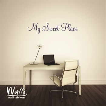 מדבקות קיר  - My sweet place