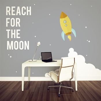 מדבקת טפט Reach for the moon